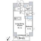 ルジェンテ・バリュ上野 / 1LDK(33.46㎡) 部屋画像1