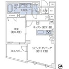 代官山BLESS鉢山 / 1LDK(52.21㎡) 部屋画像1