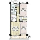 Park Residence戸越公園(パークレジデンス戸越公園) / 206 部屋画像1