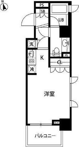 アクロス銀座 / 2階 部屋画像1