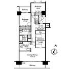 深沢ハウス Ⅰ / 3LDK(97.72㎡) 部屋画像1