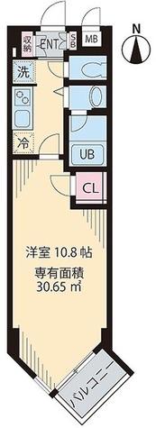 ビイルーム自由が丘 / 1K(30.65㎡) 部屋画像1