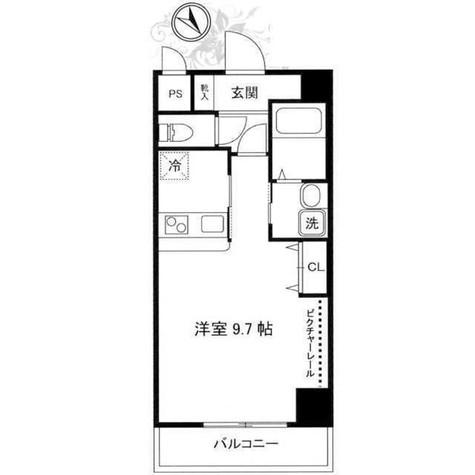 フェルテ高波(Fierte高波) / 7階 部屋画像1