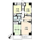KDXレジデンス二子玉川 (旧ベルファース二子玉川園) / 3LDK(63.63㎡) 部屋画像1