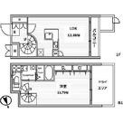 白金高輪レジデンス / B'タイプ 部屋画像1