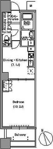パークアクシス白壁 / 1DK(42.00㎡) 部屋画像1