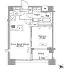 ドゥーエ月島(旧フラット月島) / 1LDK(44.08㎡) 部屋画像1
