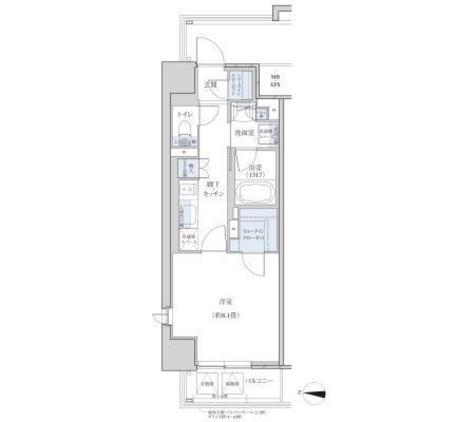 パークアクシス名駅南グランデ / 1K(33.92㎡)家具付 部屋画像1