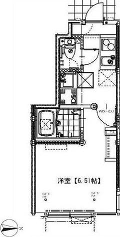 ソルナクレイシア祖師谷 / 1K(20.08㎡) 部屋画像1