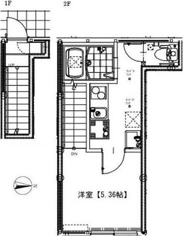 ソルナクレイシア祖師谷 / 1K(23.80㎡) 部屋画像1