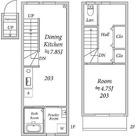 Lenfort鷺ノ宮 / 1DK(38.28㎡) 部屋画像1