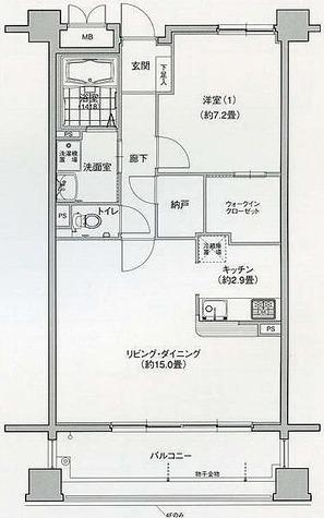 グラン・アベニュー名駅南 / 1LDK(60.48㎡) 部屋画像1