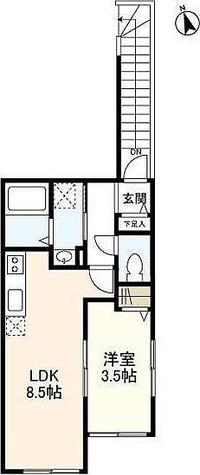 ウェルスクエア等々力 / 1LDK(30.01㎡) 部屋画像1