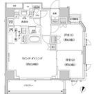 パークハビオ渋谷本町レジデンス / 2LDK(64.63㎡) 部屋画像1