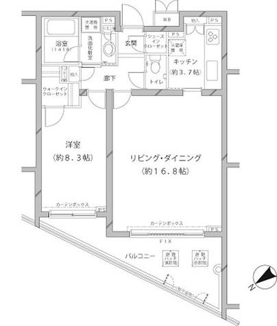 アレンツ代官山 / 1LDK(64.63㎡) 部屋画像1