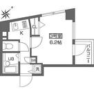 早稲田 8分マンション / 1K(20.61㎡) 部屋画像1