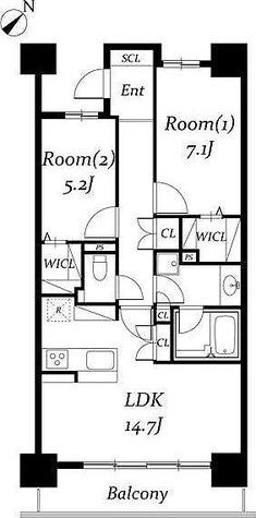 ロイヤルパークス千種 / 2LDK(67.95㎡) 部屋画像1