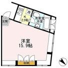 カスタリア恵比寿(旧イプセ恵比寿) / 1K(40.89㎡) 部屋画像1