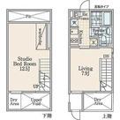 PARK SQUARE西新宿Ⅱ / 1LDK(44.2㎡) 部屋画像1