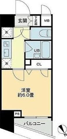 ベルファース蒲田 / Kタイプ(20.99㎡) 部屋画像1
