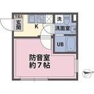 リトルズトーン梅屋敷 / 1K(20.79㎡) 部屋画像1