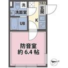 リトルズトーン梅屋敷 / 1K(19.20㎡) 部屋画像1