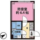 リトルズトーン梅屋敷 / 1K(19.62㎡) 部屋画像1