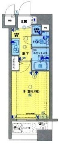 グランド・ガーラ日本橋茅場町 / 4階 部屋画像1