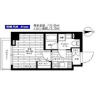 ステージグランデ八王子 / 1K(20.95㎡) 部屋画像1