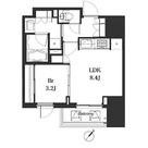 アパートメンツ巣鴨 / 1LDK(34.75㎡) 部屋画像1