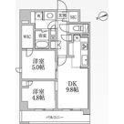 レジディア新御徒町Ⅱ / E1タイプ(50.52㎡) 部屋画像1