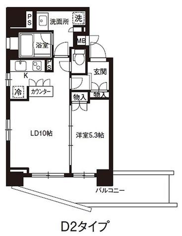 レジディア御茶ノ水 / 1LDK(43.85㎡) 部屋画像1