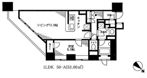 レジディア日本橋馬喰町 / 1LDK(52㎡) 部屋画像1