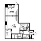 レジディアタワー麻布十番 / 1LDK(44.26㎡) 部屋画像1