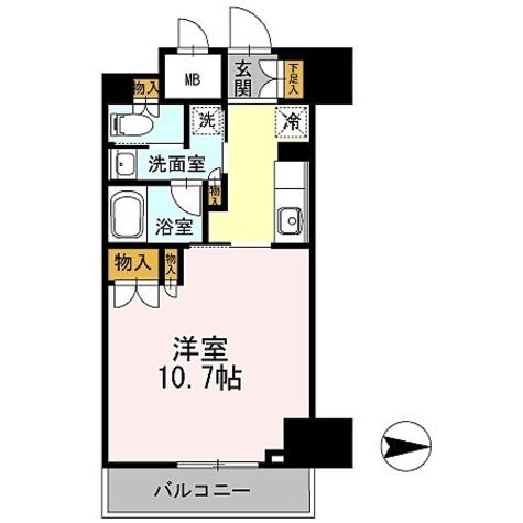 カスタリア栄 / ワンルーム(32.74㎡) 部屋画像1