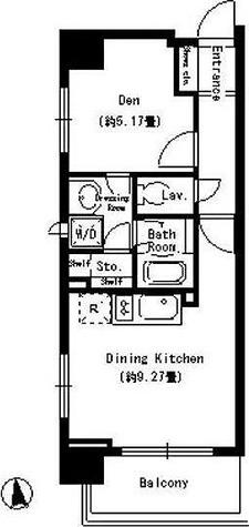 パークキューブ上野 / Aタイプ(35.42㎡) 部屋画像1