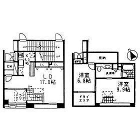 ミルーム乃木坂 / 2SLDK(85.70㎡) 部屋画像1