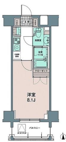 トワ・テ・メゾン / Cタイプ(25.21㎡) 部屋画像1
