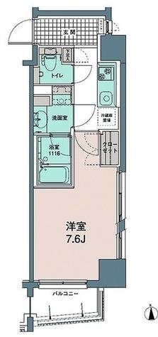 トワ・テ・メゾン / Eタイプ(27.64㎡) 部屋画像1