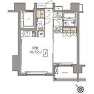 ガーデニア赤坂 / Bタイプ(40.22㎡) 部屋画像1
