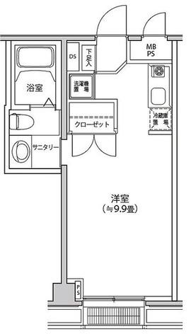 カスタリア都立大学 / 2階 部屋画像1