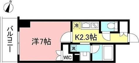 プライムメゾン初台 / 1K(24.27㎡) 部屋画像1
