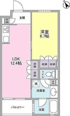 カーサ・ポルトーネ / 1LDK(42.99㎡) 部屋画像1