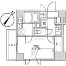 セリシエ松濤 / 1K(23.44㎡) 部屋画像1