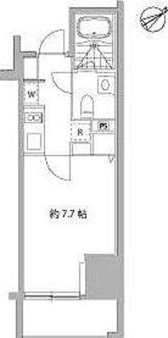 麻布十番Ⅱプロジェクト / Dタイプ(24.00㎡) 部屋画像1