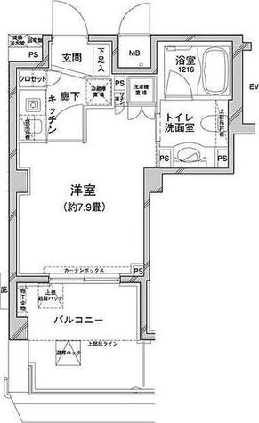 コンフォリア目黒八雲 / 1階 部屋画像1