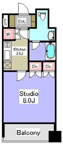 パークアクシス御茶ノ水ステージ / 8階 部屋画像1
