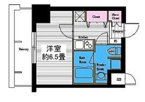 レジディア高岳 / Cタイプ(23.84㎡) 部屋画像1