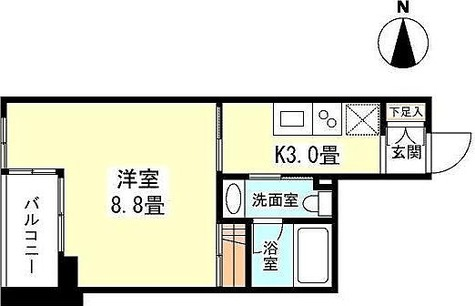 プロスペクト荻窪 / 1K(27.53㎡) 部屋画像1