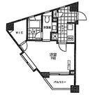 ベルファース麻布仙台坂 / 1K(25.71㎡) 部屋画像1